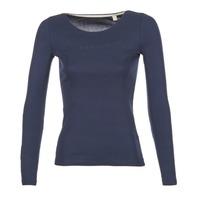 衣服 女士 长袖T恤 Esprit 埃斯普利 GIMUL 海蓝色