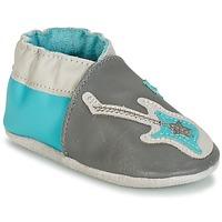 鞋子 男孩 儿童拖鞋 Robeez SUPERSTAR ROCK 蓝色 / 灰色