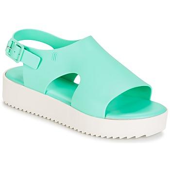 鞋子 女士 凉鞋 Melissa 梅丽莎 HOTNESS 绿色 / 白色