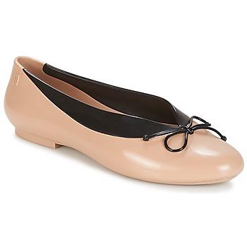 鞋子 女士 平底鞋 Melissa 梅丽莎 JUST DANCE 米色