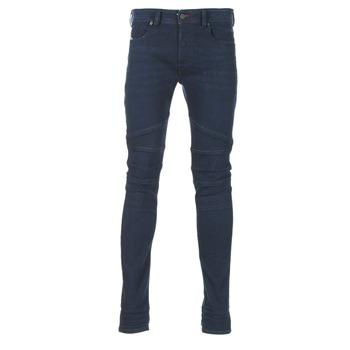 衣服 男士 紧身牛仔裤 Diesel 迪赛尔 FOURK 蓝色 / 84HR