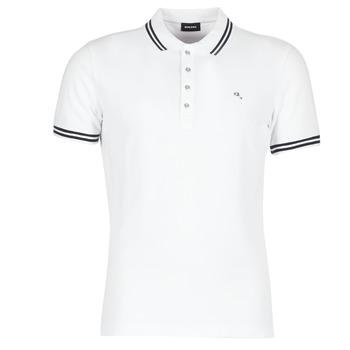 衣服 男士 短袖保罗衫 Diesel 迪赛尔 RANDY 白色