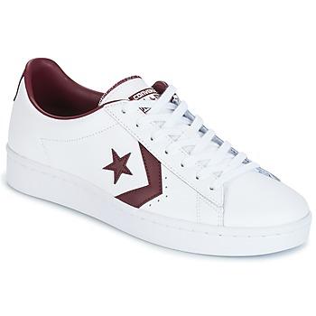 鞋子 男士 球鞋基本款 Converse 匡威 PL 76 FOUNDATIONAL LEATHER WITH ELEVATED DETAILING OX WHITE/DEEP 白色 / 波尔多红
