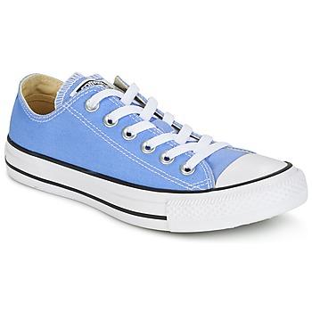 鞋子 球鞋基本款 Converse 匡威 CHUCK TAYLOR ALL STAR SEASONAL COLOR OX PIONEER BLUE 蓝色