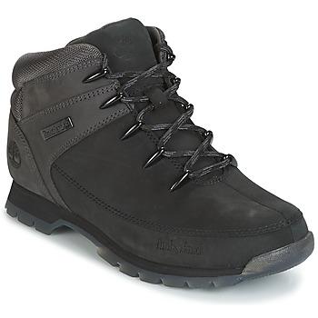 鞋子 男士 短筒靴 Timberland 添柏岚 EURO SPRINT HIKER 黑色 / 灰色