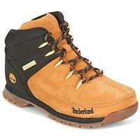 鞋子 儿童 短筒靴 Timberland 添柏岚 EURO SPRINT 棕色