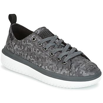 鞋子 女士 球鞋基本款 Palladium 帕拉丁 CRUSHION LACE CAMO 黑色 / 灰色