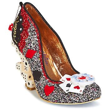 鞋子 女士 高跟鞋 Irregular Choice LAS VEGAS 银色 / 黑色