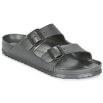鞋子 男士 休闲凉拖/沙滩鞋 Birkenstock 勃肯 ARIZONA 灰色