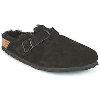 鞋子 女士 洞洞鞋/圆头拖鞋 Birkenstock 勃肯 BOSTON 黑色