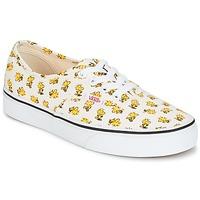 鞋子 球鞋基本款 Vans 范斯 AUTHENTIC SNOOPY 白色 / 黄色