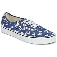 鞋子 球鞋基本款 Vans 范斯 AUTHENTIC SNOOPY 蓝色 / 白色