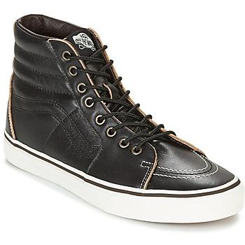 鞋子 高帮鞋 Vans 范斯 SK8-HI 黑色