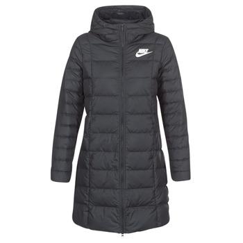 衣服 女士 羽绒服 Nike 耐克 DOWN FILL PARKA 黑色 / 白色
