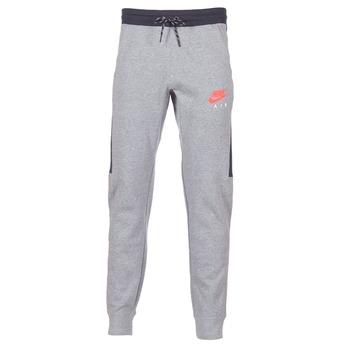 衣服 男士 厚裤子 Nike 耐克 AIR JOGGER FLEECE 灰色 / 红色