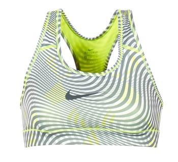 衣服 女士 文胸 Nike 耐克 NIKE PRO CLASSIC BRA 黄色 / 灰色