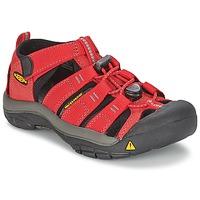 鞋子 兒童 運動涼鞋 Keen KIDS NEWPORT H2 紅色 / 灰色