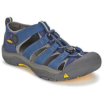 鞋子 男孩 运动凉鞋 Keen KIDS NEWPORT H2 蓝色 / 灰色