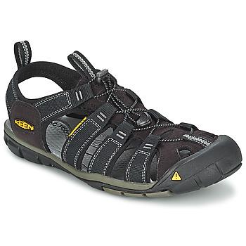 鞋子 男士 运动凉鞋 Keen MEN CLEARWATER CNX 黑色 / 灰色