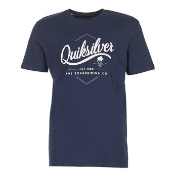 衣服 男士 短袖体恤 Quiksilver 极速骑板 CLATESEATALES 海蓝色