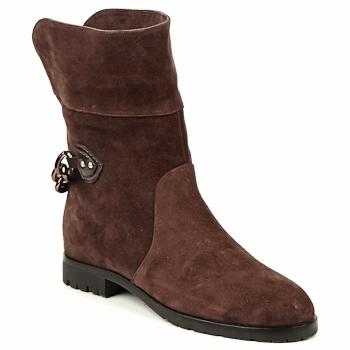 鞋子 女士 短筒靴 Marc Jacobs CHAIN BOOTS 棕色
