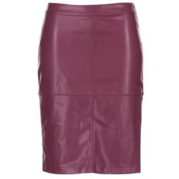 衣服 女士 半身裙 Vila VIPEN 波尔多红