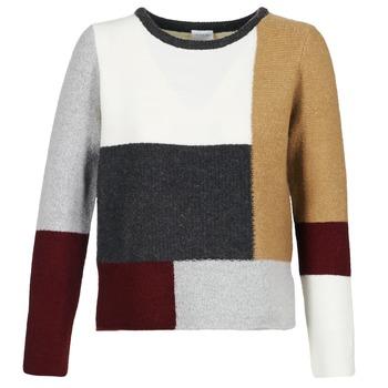 衣服 女士 羊毛衫 Vila VIPLACEIT 棕色