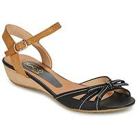 鞋子 女士 凉鞋 Spot on  黑色