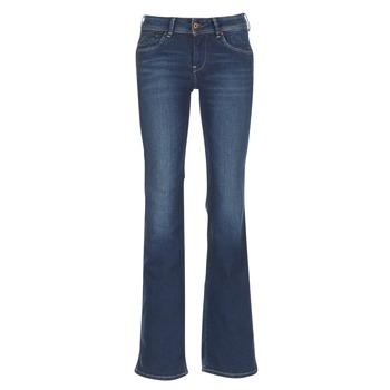 衣服 女士 喇叭牛仔裤 Pepe jeans PIMLICO Ca0 / 蓝色 / Brut