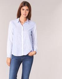 衣服 女士 衬衣/长袖衬衫 Pepe jeans CRIS 蓝色