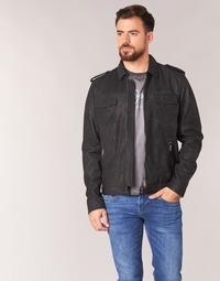 衣服 男士 皮夹克/ 人造皮革夹克 Pepe jeans NARCISO 黑色