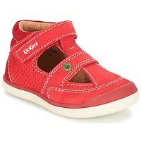 鞋子 男孩 凉鞋 Kickers GOODSPEED 红色