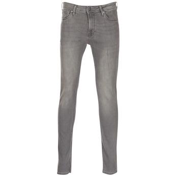 衣服 男士 紧身牛仔裤 Jack & Jones 杰克琼斯 LIAM 灰色