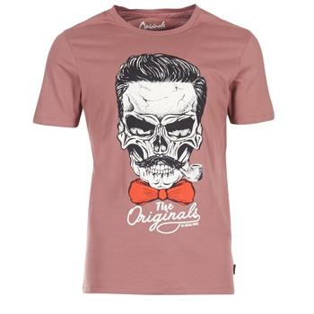 衣服 男士 短袖体恤 Jack & Jones 杰克琼斯 CRIPTIC ORIGINALS 玫瑰色