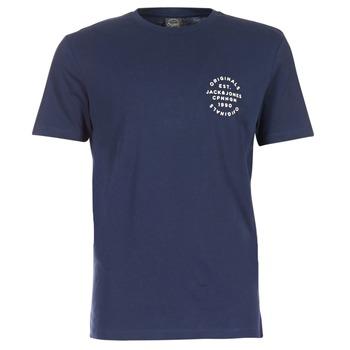 衣服 男士 短袖体恤 Jack & Jones 杰克琼斯 ORGANIC ORIGINALS 海蓝色