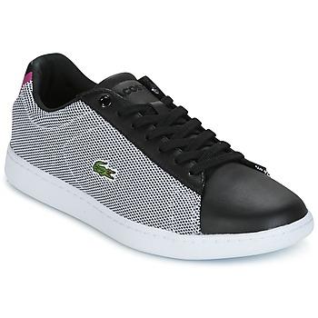 鞋子 女士 球鞋基本款 Lacoste CARNABY EVO 117 1 SPW 黑色