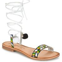 鞋子 女士 凉鞋 Lola Espeleta EDWINA 绿色 / 银灰色
