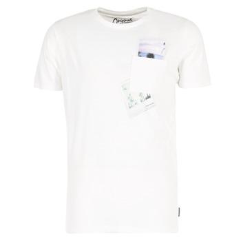 衣服 男士 短袖体恤 Jack & Jones 杰克琼斯 CHECK ORIGINALS 白色
