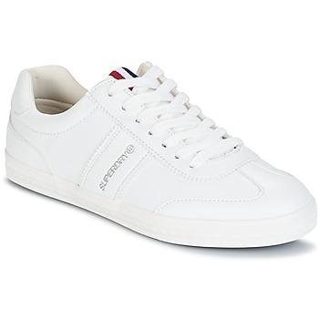 鞋子 女士 球鞋基本款 Superdry 极度干燥 COURT CLASSIC SLEEK TRAINER 白色