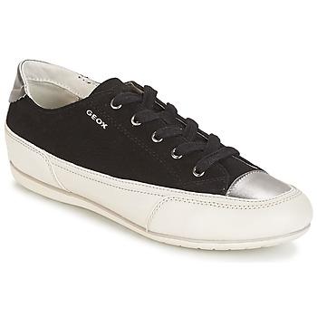 鞋子 女士 球鞋基本款 Geox 健乐士 D N.MOENA D - SCAM.STA+VIT.CER 黑色