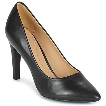 鞋子 女士 高跟鞋 Geox 健乐士 D CAROLINE C - NAPPA 黑色