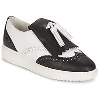 鞋子 女士 皮便鞋 Geox 健乐士 D THYMAR C - NAPPA 白色 / 黑色