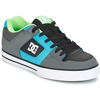 鞋子 男士 板鞋 DC Shoes PURE 灰色 / 绿色 / 蓝色