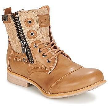 鞋子 女士 短筒靴 Bunker SARA 灰褐色