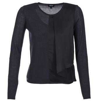 衣服 女士 羊毛衫 Armani jeans JAUDO 海蓝色