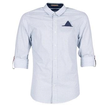 衣服 男士 长袖衬衫 SCOTCH & SODA DARLU 白色 / 蓝色
