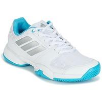 鞋子 跑鞋 adidas Performance 阿迪达斯运动训练 Barricade Club xJ 白色 / 蓝色