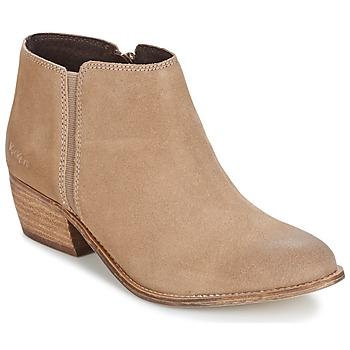 鞋子 女士 短靴 Kickers BOOTY 米色