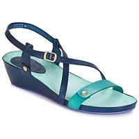 鞋子 女士 凉鞋 Kickers TASTE 海蓝色 / 蓝色 / Lagoon