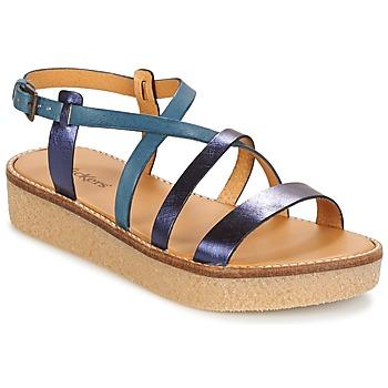 鞋子 女士 凉鞋 Kickers VALENTINA 蓝色